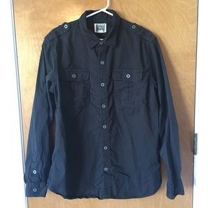 Converse One Star Long Sleeve Button Up